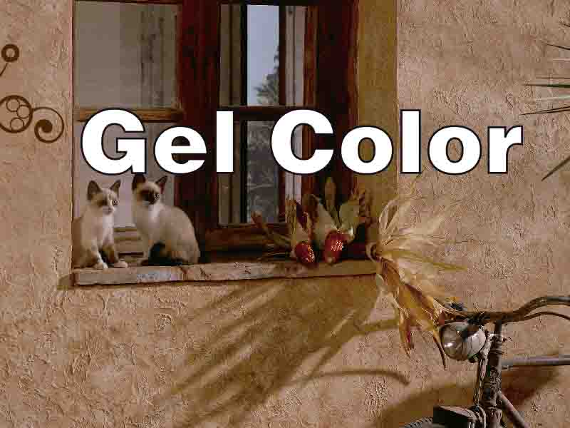 gel color